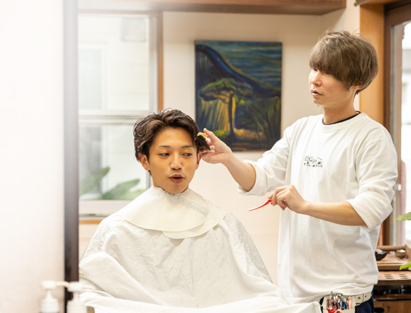 「Ses S FOR HAIR」のこだわり